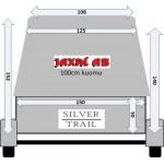 Peräkärry perävaunu Silver Trail 350X